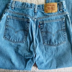Vintage Levi's 550 High Waisted Jeans Size 27